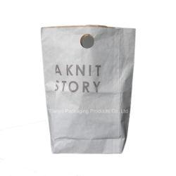 Модные магазины бумажных мешков для пыли, подарочный бумажный мешок с Die Cut круглые ручки