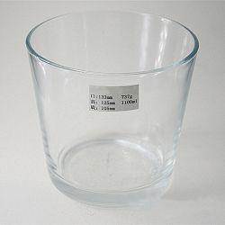Grande de alta qualidade de vidro transparente suporte para velas para decoração Home presente de Natal