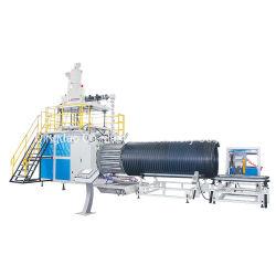 De PE/PP Krah Espiral máquina de extrusão do tubo corrugado/Linha de Extrusão