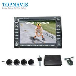 ガイドラインと画像を示す車両ビデオリバースセンサ