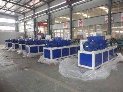 Composição plástica Extrusor tornando TUBOS DE PVC/Grânulos Parafusos Twin equipamento de extrusão