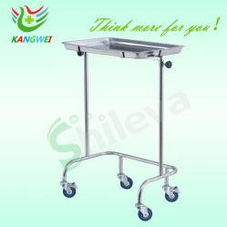 2つのポストの病院の家具の病院の立場が付いている皿の立場