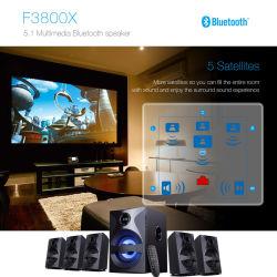 Home Cinéma 5.1 Enceintes Surround TV avec voyant de contrôle à distance USB Bluetooth