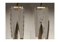 Atletismo popular de la Moda primavera/otoño géneros de punto gris Deportes pantalones para hombres