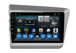 Dans le tableau de bord Voiture Lecteur de DVD et système de navigation GPS de médias pour Honda Civic 2012