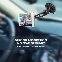 긴 암 범용 자동차 유연한 베이스가 있는 마그네틱 전면 유리 마운트 iPhone용 X 8 8P 7 7p