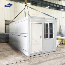 Préfabriqué modulaire préfabriquée mobile en bois Shiping Portable vivant de l'acier Bureau Meubles de Luxe Chambre minuscule conteneur