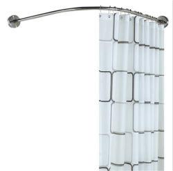 Tenda Rod curva dell'acquazzone dell'acciaio inossidabile di qualità commerciale
