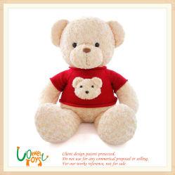 Мягкие Мягкие плюшевые игрушки животных Мишка зона отдыха с красными футболка детей дети игрушка для малыша