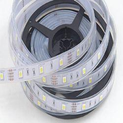 شريط ضوء LED SMD5630 LED مقاوم للمياه SMD5630 بطول 5 م/لفة DC12 فولت RGB