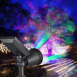 Светодиодный индикатор в саду светодиодный светильник IP66 Soalr регулируемого освещения Spotlight солнечного света