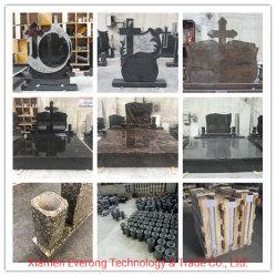 G664/G603/G654/G623/China Preto/Chinês South African Black/Aurona/Bahama Headstone Granito Azul/Momument/Gravestone/ Tombstone da Roménia/Polónia/Irlanda Style