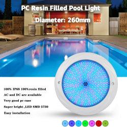 24 Watt RGB LED de isolados de resina exterior de luz com dois anos de garantia