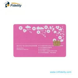 Sle5528 Contact carte RFID Blanc/Smart carte IC en PVC