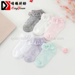 As crianças da moda Verão Lace Garota de algodão meias de tornozelo