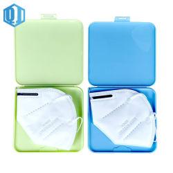 Envio imediato máscara plástica Caixa de armazenamento para KN95/N95 Preço grossista
