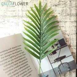 인공 꽃 대나무 종려 MW63330가 단 하나 줄기 실크에 의하여 꽃이 핀다