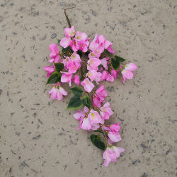 Factroy Silk Bouganvilla-künstliche Blumen-Großhandelszweige für Verkauf