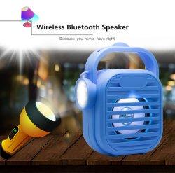 Altoparlante esterno di Bluetooth del sistema acustico portatile audio a buon mercato con il USB radiofonico della torcia elettrica FM TF