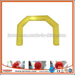 Design diferente soprar ar pelo arco insuflável em PVC Personalizada do Ventilador