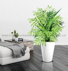 卸し売り新しいデザイン倍数はヨーロッパ式の高品質の装飾的で高い円形のプラスチック植木鉢のプラント鍋の庭プランターを大きさで分類する