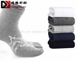 Logo personnalisé de haute qualité respirable 100%COTON cinq Chaussettes Toe