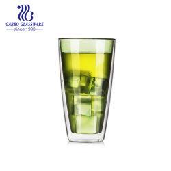 13 Oz Borosilicaat Glass Cup for Drinking Double Beer ware Warm water koude dranken Glaswerk