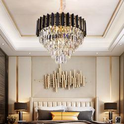 Het Licht van het Plafond van de creatieve Lichte LEIDENE van het Kristal van de Luxe Lichte Warme Slaapkamer van de Eetkamer