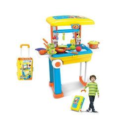 L'insieme di plastica del gioco dell'utensile dei giocattoli della cucina finge i capretti (10301002)
