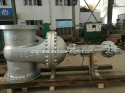 Klep van de Poort van de Bal van API600/DIN/JIS de Wcb Van een flens voorzien Bw/Sw Pneumatische Elektrische Ckeck Goble