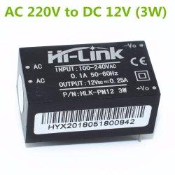 Hlk-Pm12 AC-DC Módulo de fonte de alimentação de 220V a 12V