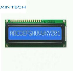 16 Zeichen eine Zeile Monochrom LCD-Baugruppen-Bildschirmanzeige 1601 mit LED Backlit