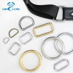 """Anello del sacchetto del giunto circolare dell'anello a """"D"""" degli accessori del sacchetto dell'inarcamento del nastro metallico per registrazione"""