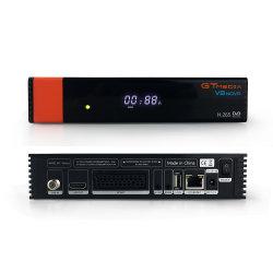 4K 위성 수신기 GTmedia V8 Nova DVB-S2 Cccam 4종 Full HD 1080p 지원 H.265 셋톱 박스