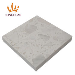 Hoge Kwaliteit Bouwmateriaal Marmer Met Aderen Grote Bloem Kunstmatige / Gebouwde Steen / Graniet Slabs