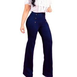 Новые поступления моды Bodycon высокой Waisted Жан брюки для женщин