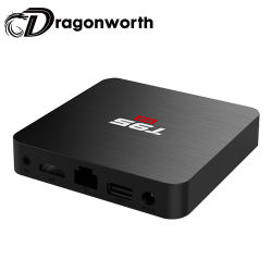 T95S2 S905W, 2g 16g El reproductor multimedia HD Android con control remoto Media Player Reproductor multimedia de 4K la mejor película de Aplicaciones para Android TV Box