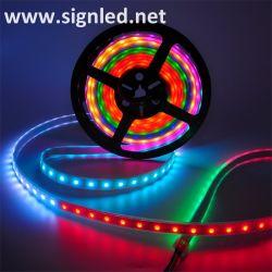 Colore di RGB che cambia il tubo del silicone della striscia dell'indicatore luminoso del LED impermeabile