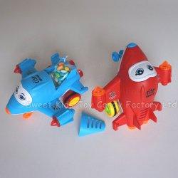 Transformable avion avec des bonbons jouets Jouets et bonbons