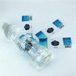 Transparent BOPP bouteille d'eau les étiquettes de bouteille d'eau