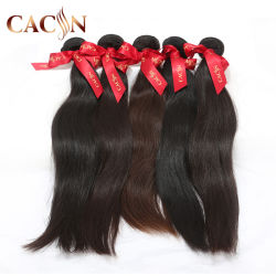 Recto seda Cabello Remy trama productos 100% virgen ruso cabello humano.