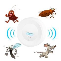 Errore di programma del roditore della casa di Timethinker anti dell'Ue delle spine della zanzara dell'assassino di insetto della cosa repellente degli animali domestici del mouse ultrasonico elettronico astuto di scarto