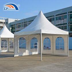 4x4m blanc haute pagode de crête de location de tentes pour l'extérieur d'affaires de l'événement