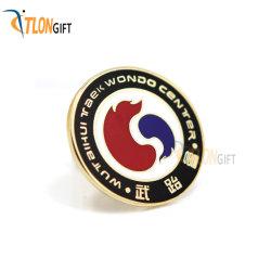 Conception personnalisée de gros de professionnels de l'épinglette de cadeau de promotion de métal
