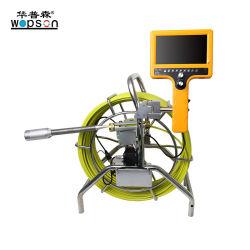 Camera voor inspectie van de zelfnivellerende afvoerleiding, camera van 40 mm, kleur, registratie,