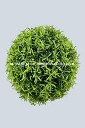 Usine de PE en plastique artificielle Hedyotis Herb boule pour la décoration (47047)
