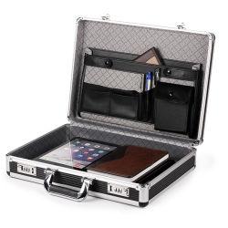 L'aluminium brève analyse de rentabilisation L'outil de déplacement de cas Cas sacoche pour ordinateur portable avec le code de verrouillage (BC017)
