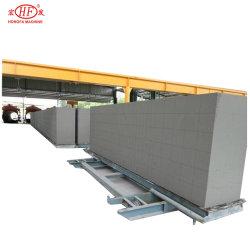 De lichtgewicht Machine van de Installatie van het Blok van het Type AAC van Zand van de Machine van de Lopende band van het Comité van de Plak van de Muur AAC