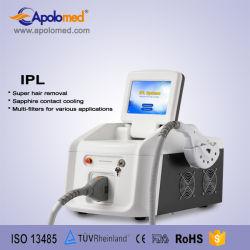 Bewegliches IPL mit HF-Haut-Sorgfalt-Schönheits-Gerät