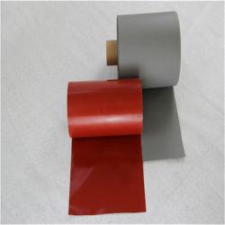 Krimpen de silicone Met een laag bedekte Stoffen van het Glas voor Tunnels 0.5mm het Behandelen van de Muur van de Glasvezel van de Dikte Stof